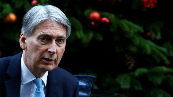 Economy faces severe damage without orderly Brexit - Hammond