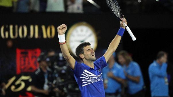 Open Australia: Djokovic in finale