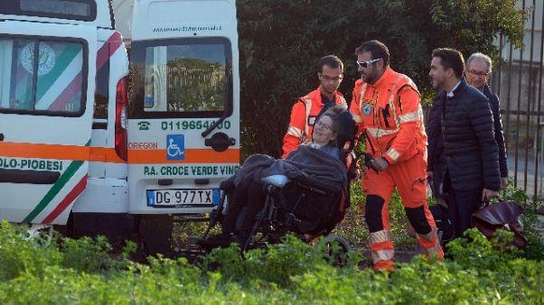 Morta donna ferita in piazza San Carlo