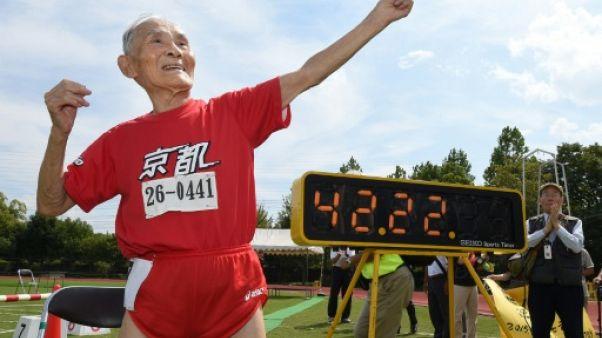 """Japon: décès du sprinteur centenaire """"Golden Bolt"""" Myazaki"""