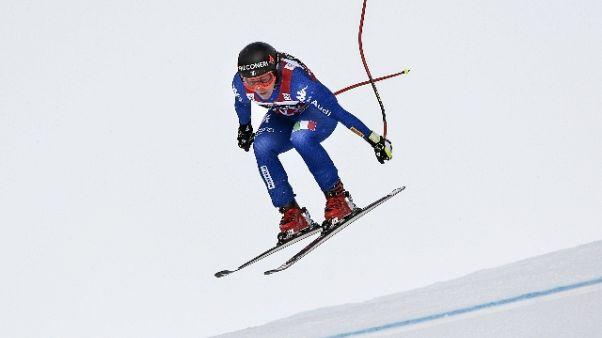 Sci:a Puechner 2/a prova libera Garmisch