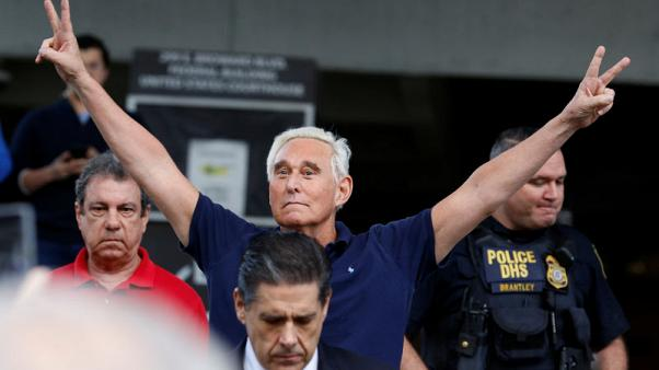 Longtime Trump ally Roger Stone arrested for lying to Congress