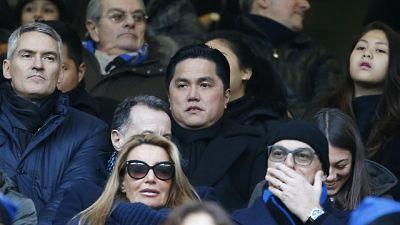 Calcio, Thohir lascia Inter