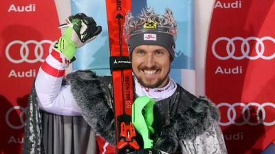 Ski: Hirscher, le roi discret à Kitzbühel