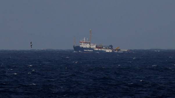 Italy pressures Dutch and French over storm-tossed migrant rescue ship