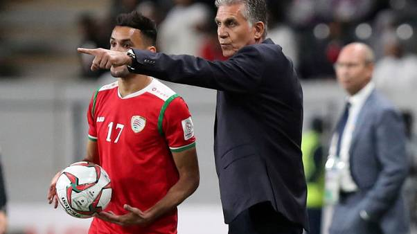 Favourites tag 'ill-fitting' says Iran coach Queiroz