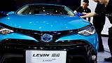 Toyota Motor aims to boost sales in China by 8 percent this year
