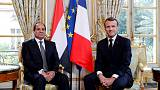 Macron faces diplomatic test in Egypt amid human rights pressure