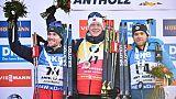 Biathlon/Sprint D'Anterselva: toujours pas de podium pour Fourcade, Boe sans rival