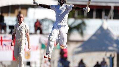 Windies captain Holder makes double ton to put England on ropes