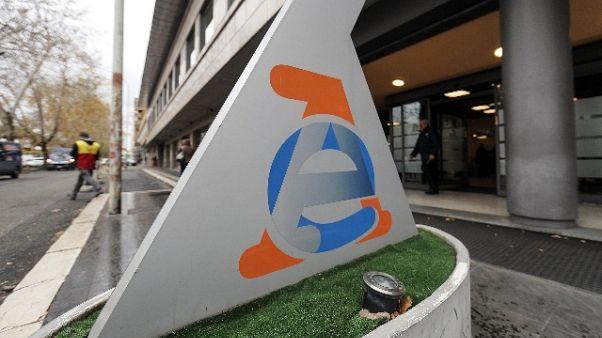 Visa versa 13 mln a Agenzia Entrate