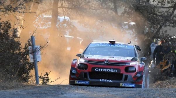 Rallye Monte-Carlo: Ogier devant mais talonné, Loeb 5e mais proche du podium