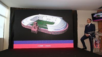 Bologna, ecco progetto per nuovo stadio