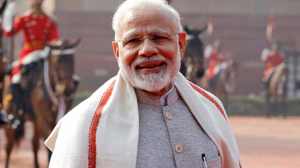 Indian PM Modi's popularity at all-time low; rival Gandhi closing in - poll