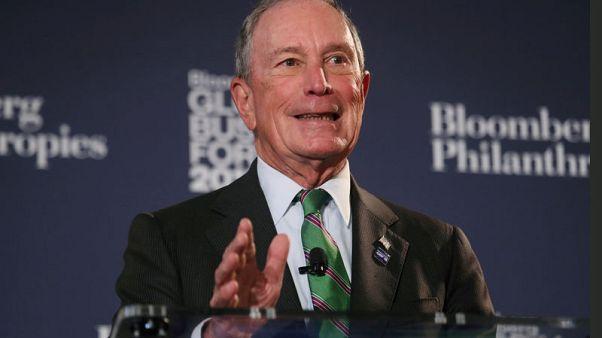 U.S. Democrat Bloomberg says Trump is 'flunking' as president