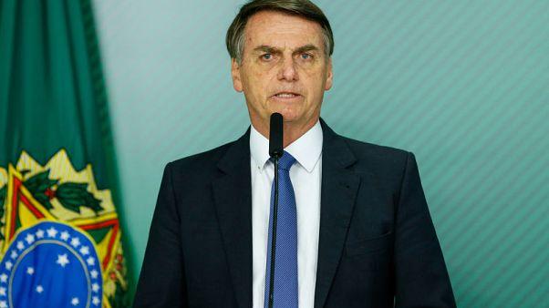 Brazil's Bolsonaro to undergo surgery on Monday, VP takes over