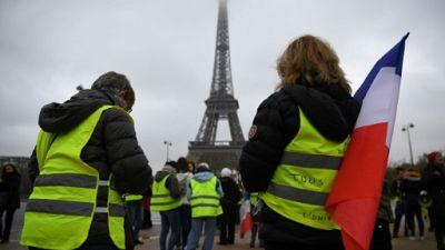 """France: nouvelle mobilisation des """"gilets jaunes"""", émaillée d'incidents"""