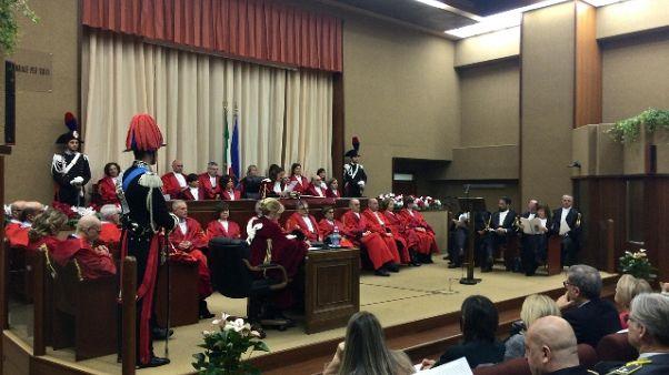 Anno giudiziario Cagliari, pochi giudici
