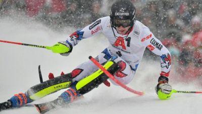 Noël et Pinturault en embuscade derrière Zenhaüsern après la 1re manche du slalom de Kitzbühel