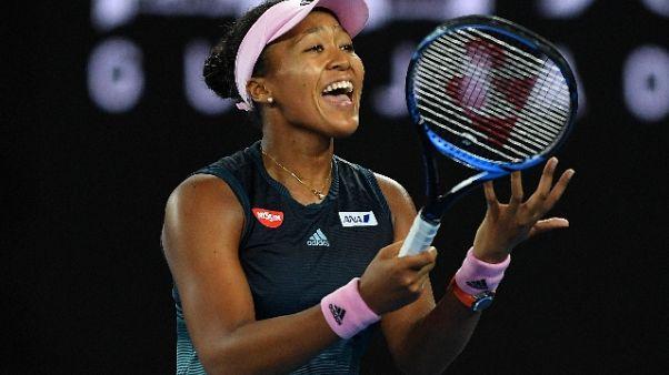 Tennis, in Australia trionfa Osaka