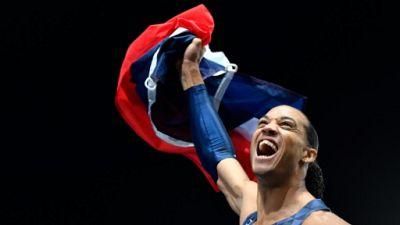 Athlétisme: Pascal Martinot-Lagarde se lance à Bercy