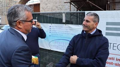 In 2019 'cantieri importanti' area sisma
