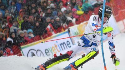 "Ski: Clément Noël, la ""machine"" inarrêtable à Kitzbühel"