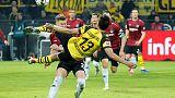 Dortmund beat Hanover 5-1 to go nine points clear