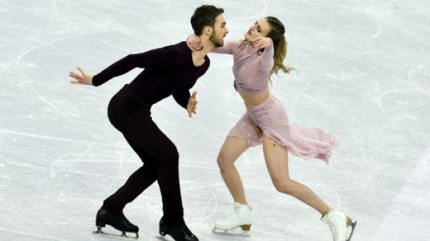 """Euro de patinage artistique: """"On se sentait vraiment en contrôle"""", déclare Gabriella Papadakis"""