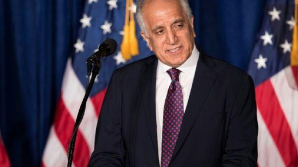 Zalmay Khalilzad, parle au Mayflower Hotel à Washington, le 27 avril 2016
