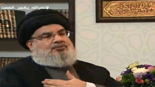 """Israël a mis """"des années"""" avant de découvrir les tunnels, ironise le chef du Hezbollah"""
