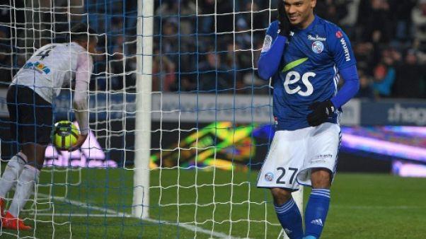 Ligue 1: Lala délivre Strasbourg