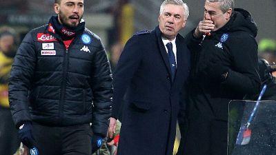 Ancelotti, espulso per una parolaccia