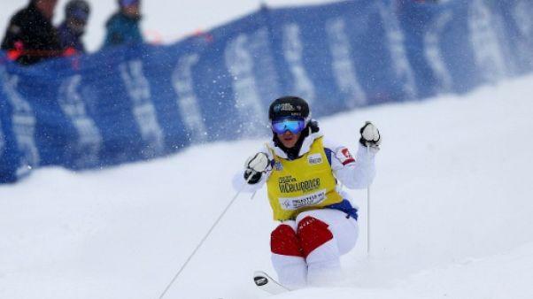Ski de bosses: deuxième victoire de la saison pour Perrine Laffont à Mont Tremblant