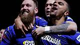 AFC Wimbledon humble West Ham in FA Cup shock
