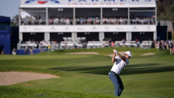 Golf - Late troubles leave Rose three ahead of Scott at Torrey Pines