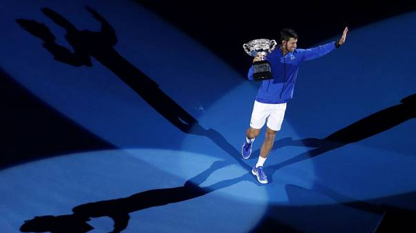 Djokovic routs Nadal for record seventh Australian title