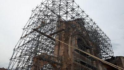 'Tesoro' tra macerie Basilica Norcia