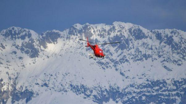 Le massif du Hahnenkamm (la crête de coq), à Kitzbühel, le 26 janvier 2018