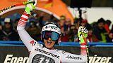 Ski: l'Autrichienne Venier prive Goggia d'une victoire en remportant la descente de Garmisch