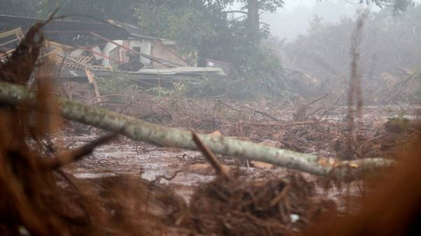 Nearly 24,000 ordered to evacuate after Brazil dam burst, 250 missing