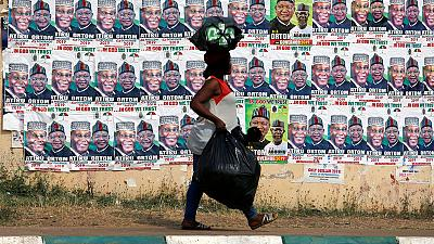 Nigeria rejects foreign 'meddling' over chief justice suspended before Feb vote