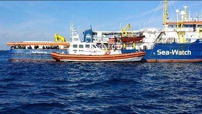 Delegazione deputati lascia Sea Watch