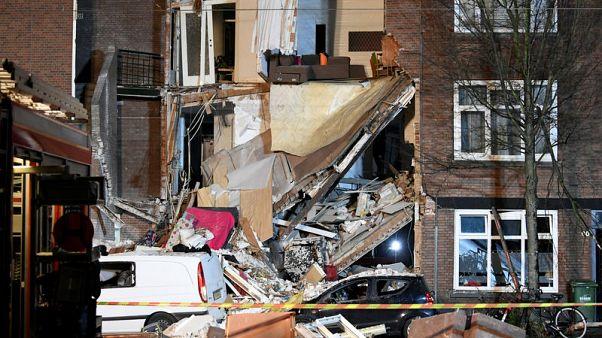 إصابة 9 في انفجار ناجم عن تسرب غاز بمدينة لاهاي الهولندية