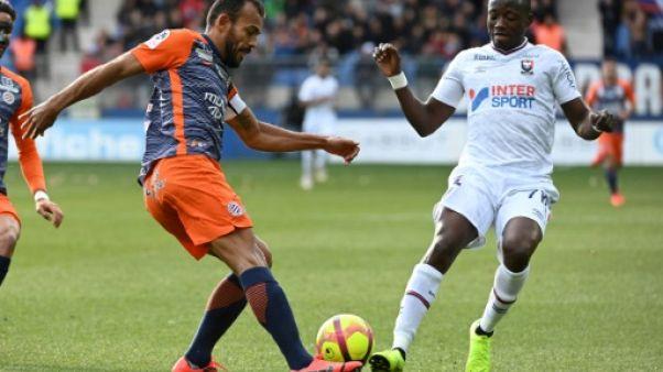 Ligue 1: Montpellier enfonce Caen et se relance