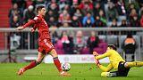 Bayern beat Stuttgart to stay six points off Dortmund