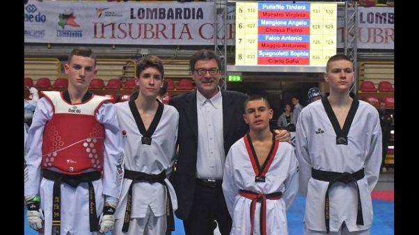 Taekwondo: Insubria Cup,visita Giorgetti