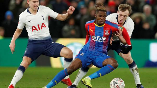 Second-string Spurs knocked out of Cup by Palace
