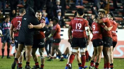 Top 14: Toulon au finish face au Stade Français