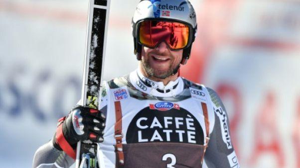 Le skieur norvégien Aksel Lund Svindal, le 19 janvier 2019 à Wengen